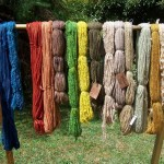 Jenny's all natural dyed wools
